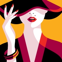 Get the essence of beauty illustration