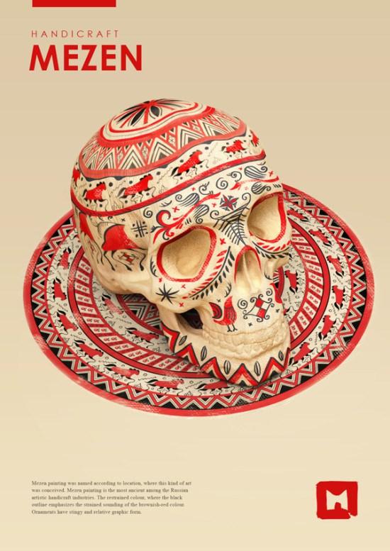 Sasha Vinogradova - Series of Russian Folk Paiting_4